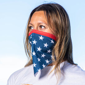 Bandana Face Mask - Patriotic Stars
