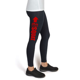 Cross Training High Print Leggings This Is Why I Squat