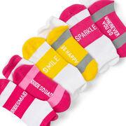 Socrates® Woven Performance Sock Set - Bridesmaid