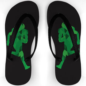Football Flip Flops Popout Receiver
