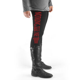 Basketball High Print Leggings Nothing But Net