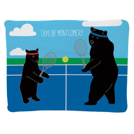 Tennis Baby Blanket - Bears