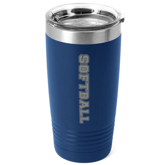 Softball 20 oz. Double Insulated Tumbler - Softball