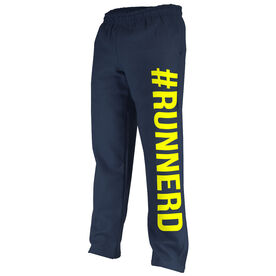 Running Fleece Sweatpants #RUNNERD