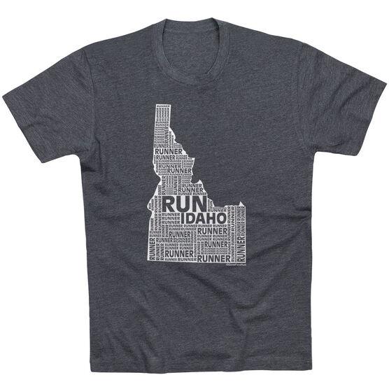 Running Short Sleeve T-Shirt - Idaho State Runner