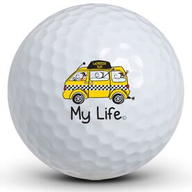 My Life - Lacrosse taxi Golf Balls