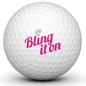 Bling It On Golf Ball