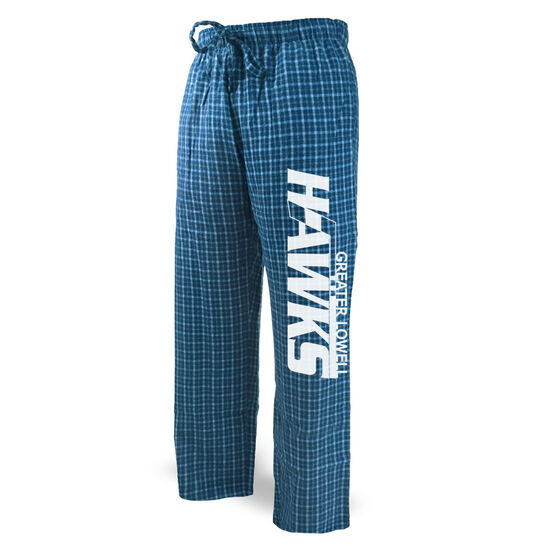 Lounge Pants - Greater Lowell Hawks Hockey Logo