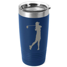 Golf 20 oz. Double Insulated Tumbler - Female Silhouette