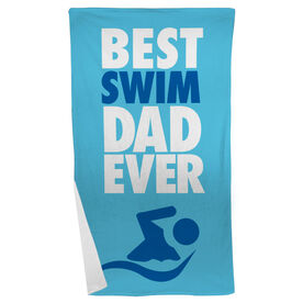 Swimming Beach Towel Best Dad Ever