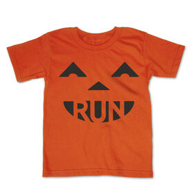 Running Toddler Short Sleeve Tee - Pumpkin Run