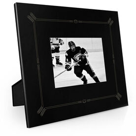 Hockey Engraved Picture Frame Border