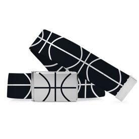 Basketball Lifestyle Belt Basketball Lines
