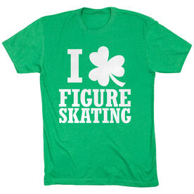 Figure Skating Tshirt Short Sleeve I Shamrock Figure Skating