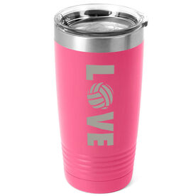 Volleyball 20 oz. Double Insulated Tumbler - LOVE