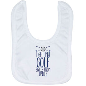 Golf Baby Bib - I Get My Skills From