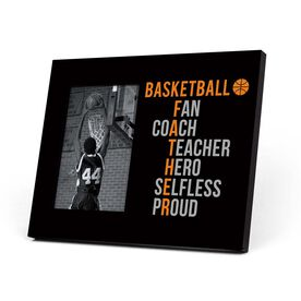Basketball Photo Frame - Basketball Father Words