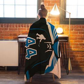 Hockey Premium Blanket - Personalized Jersey