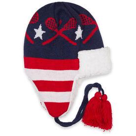 Lacrosse Sherpa Trapper Hat - Patriotic