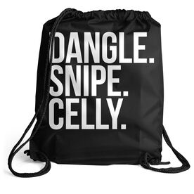 Hockey Sport Pack Cinch Sack - Dangle Snipe Celly Words