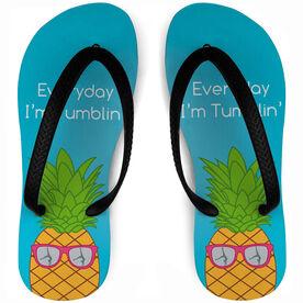 Gymnastics Flip Flops Tumblin' Pineapple