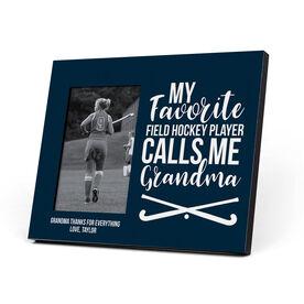 Field Hockey Photo Frame - Grandma's Favorite Player