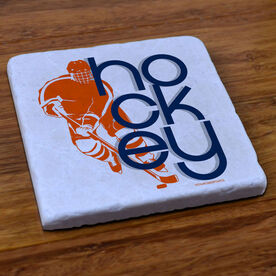 Hockey Stone Coaster Hockey Out Loud