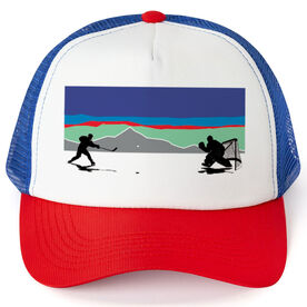 Hockey Trucker Hat - Pond Hockey