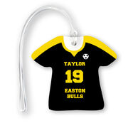 Soccer Jersey Bag/Luggage Tag - Personalized Jersey
