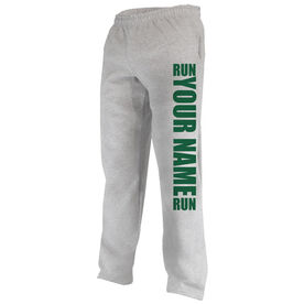 Running Fleece Sweatpants Run Your Name Run