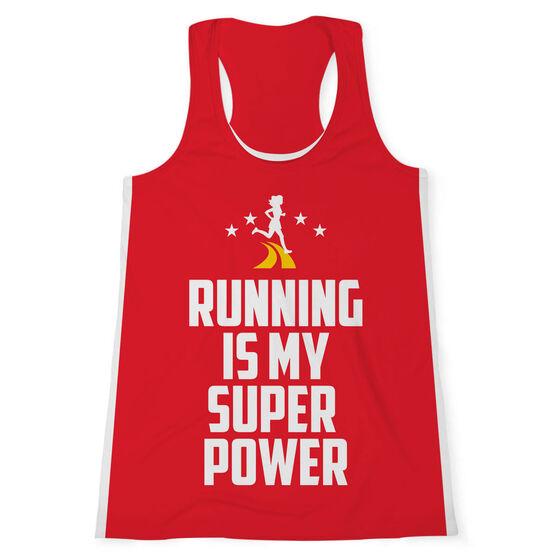 Women's Performance Tank Top - Running Is My Super Power