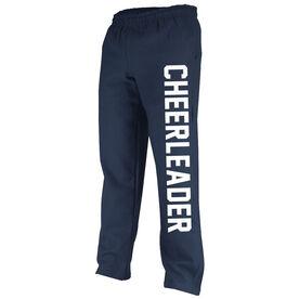 Cheerleading Fleece Sweatpants Varsity Cheerleader