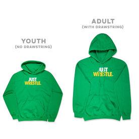 Wrestling Hooded Sweatshirt - Just Wrestle
