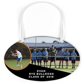 Tennis Oval Sign - Class Of Team and Player Photo