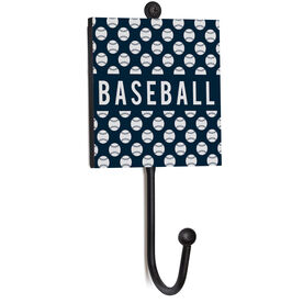 Baseball Medal Hook - Baseball Pattern