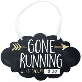 Running Cloud Sign - Gone Running (Dry Erase)