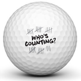Whos Counting Golf Ball
