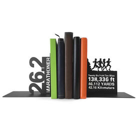 Running Bookends 26.2 Math Miles