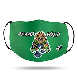 Seams Wild Football Face Mask - Kingsley