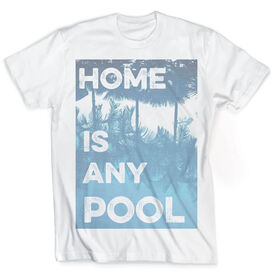 Vintage Swimming T-Shirt - Home Is Any Pool