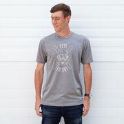 Skiing T-Shirt Short Sleeve - Yeti To Ski
