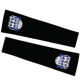 Volleyball Printed Arm Sleeves - Your Logo