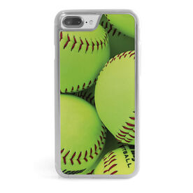Softball iPhone® Case - Graphic