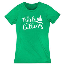 Women's Everyday Runners Tee - The Trails Are Calling