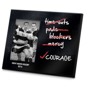 Rugby Photo Frame No Pads