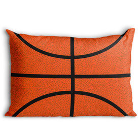 Basketball Pillowcase - Texture