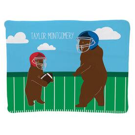 Football Baby Blanket - Bears