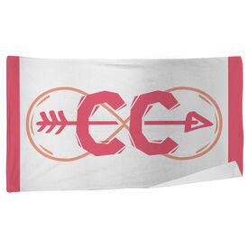 Cross Country Beach Towel Infinity