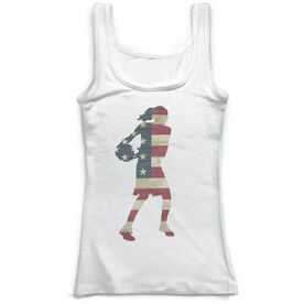 Basketball Vintage Fitted Tank Top - Grand Old Shot