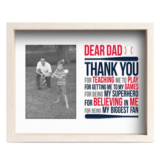 Baseball Premier Frame - Thanks Dad